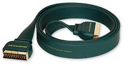 плоский scart кабель