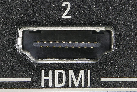 Разъем HDMI на телевизоре