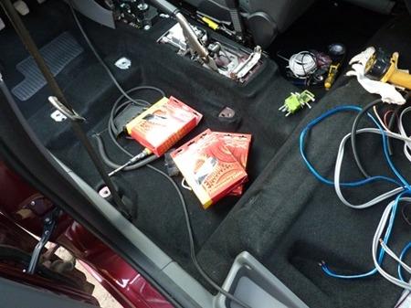 прокладка проводов в автомобиле