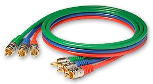 компонентный видео кабель 3RCA-3RCA